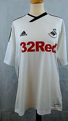 Swansea City AFC Home Football shirt 2011 - 2012  Adidas size Medium M