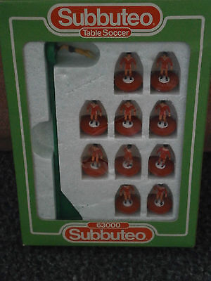 subbuteo table soccer football team   liverpool