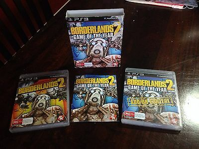 BORDERLANDS 2 GAME OF THE YEAR EDITION    Complete   (GOTY)~ PlayStation 3   PS3
