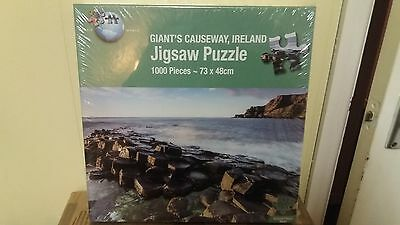 Jigsaw puzzle, 1000 pieces, Giant's Causeway Ireland. New& sealed.