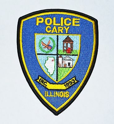 Cary illinois Police Shoulder Patch