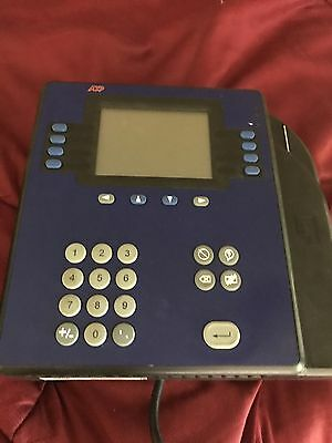 ADP Kronos 4500 QuickPunch Employee Time Clock 8602800-856