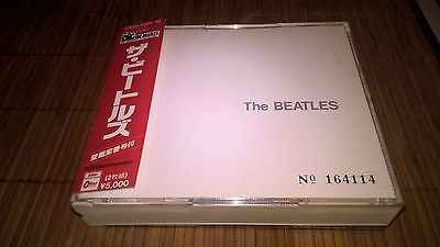 BEATLES s/t White Album CD JAPAN CP25-5329~30 numbered 1st press