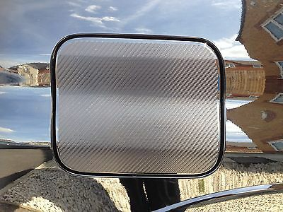 Subaru Impreza Carbon Fibre Fuel Cap Flap Cover Sticker 2001-2007 Newage