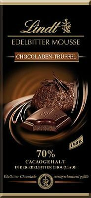 Lindt Edelbitter Mousse Chocoladen-Trüffel, 70 % Cacao - 150 g