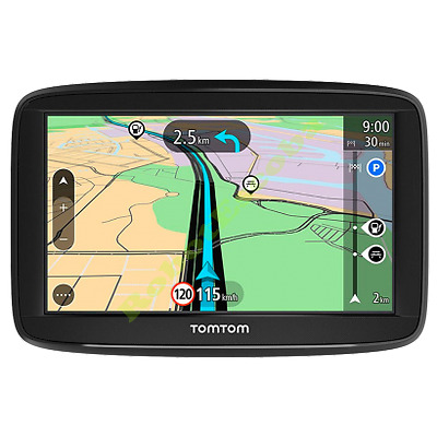 Tomtom Gps Start 52, Pantalla De 5'', Mapas De Europa Occidental