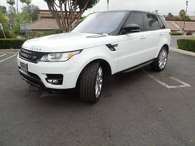 2016 Land Rover Range Rover Sport Super Charged 2016 Range Rover Sport 5.0 V8 Super Charged