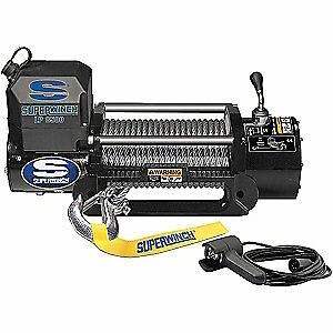 SUPERWINCH Electric Winch,4-1/2HP,12VDC, 1585202