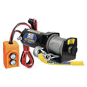 SUPERWINCH Electric Winch,1HP,12VDC, 1220210