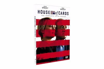 2017 NEW House of Cards Season 5 (DVD, 2017,4-Disc Set) US seller