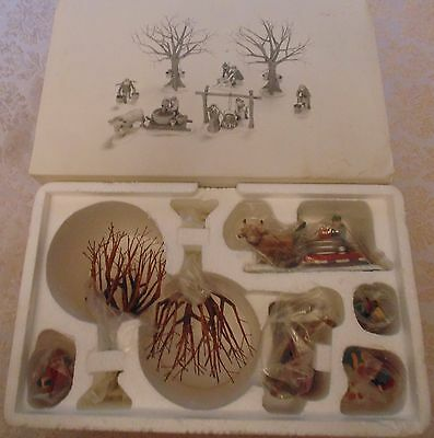 Department 56 Heritage Village Collection Tapping the Maples #56599 - NEW IN BOX