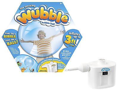 New Blue Wubble Bubble Ball with Pump Inflatable Outdoor Toy