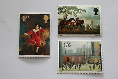Great Britain 1967 Paintings, Stamps