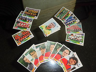 Panini World Cup France 98 / 1998 - Lot of 35 different stickers UNUSED New
