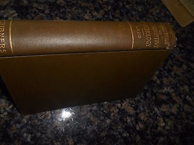 Antique Mental Science Textbook Book/outlines Of Descriptive Psychology/1898/1St
