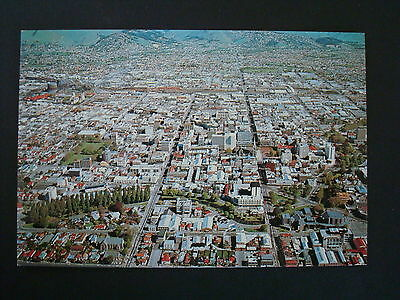 Unused Vintage/retro Postcard Of New Zealand - Christchurch Aerial View