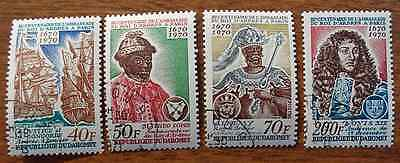 Dahomey 1970 King of Andres #271-274 Used Set