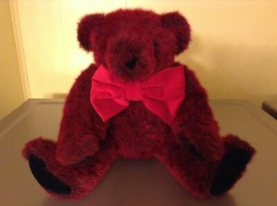 Authentic Vermont Teddy Bear Red 15 inches