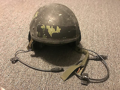 Pre-owned CVC Helmet Medium DH-132B and Pre-owned Communication Headset DEFECT