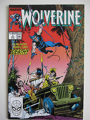 Wolverine #5 from Marvel Comics 1989
