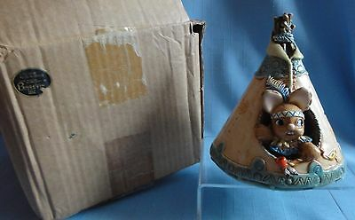 Pendelfin LITTLE BRAVE Canadian Exclusive Made in England HARD TO FIND PIECE