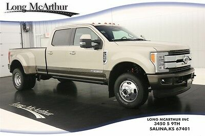 2017 Ford F-350 4X4 CREW CAB KING RANCH DUALLY MSRP $77090 4WD 4 DOOR POWERSTROKE TURBO DIESEL SUPER DUTY NAVIGATION MOONROOF LEATHER