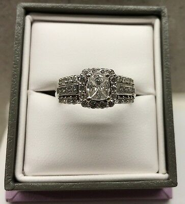 Genuine Michael  Hill Diamond Engagement And Wedding Band