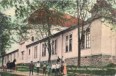 Hagerstown Maryland The Fair Building Postcard