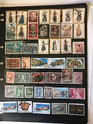 stamps Greece - Used - Lot 422