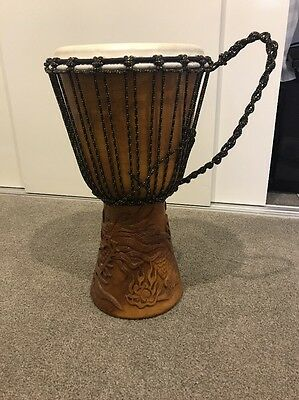 Hand Carved Balinese Drum Djembe