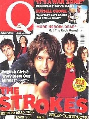 The Strokes Albert Hammond Julian Casablancas Magazine Cover Article Rock Music