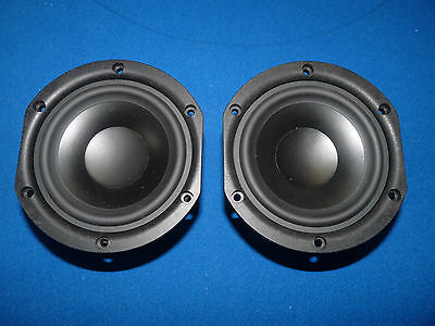 """Japanese Denon 5"""" Mid Low Range Woofer. High Quality. One Pair."""
