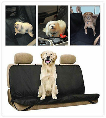 Car Waterproof Back Seat Cover Protector Mat Rear Safety Travel for Pet Dog Cat
