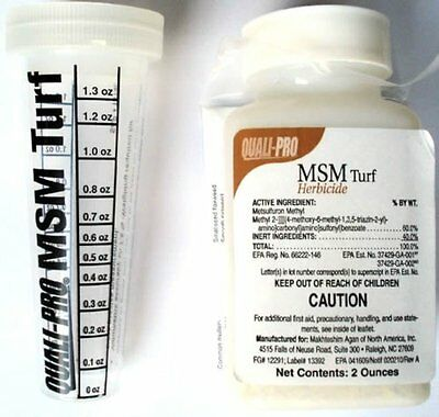 Control Solutions Quali-pro Msm Turf Herbicide 2 Oz FREE Shipping USA Seller