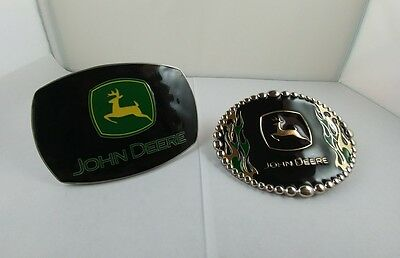 John Deere belt buckles officially licensed. Preowned, in excellent condition.