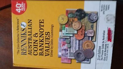 Renniks 21st Edition Australian Coin and Banknote Values hardback cover