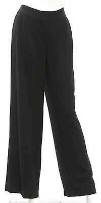 Women's LORD & TAYLOR Black Cotton Blend Casual Pant Size 8