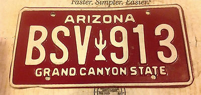 1984 Arizona License Plate