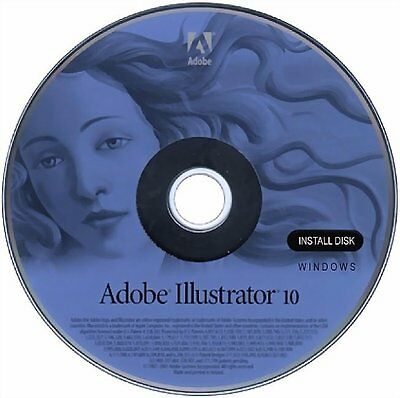 Adobe Illustrator 10 (10.0) - (Retail) (1 User/s) - Full PC Version