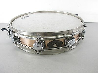 Tama 4x14 Brass Mighty Hoop Acoustic Picolo Snare Drum