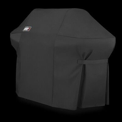 Weber 7108 Grill Cover w/Storage Bag for Summit 400-Series Gas Grills MSRP $80