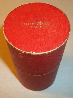 Original Red Box For Pierre Angenieux Paris Retrofocus Movie Lens Rare Vintage