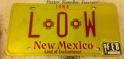 1991 New Mexico License Plate