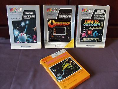 Vintage cartriges commodore VIC 20