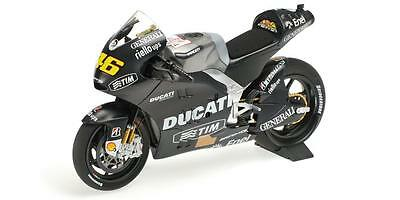 Minichamps Rossi 2012 Ducati GP12 Sepang Test LE 1008 Worldwide 1/12