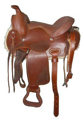 James Saddlery distributed Childrens Kids Youths Western Saddle 13""