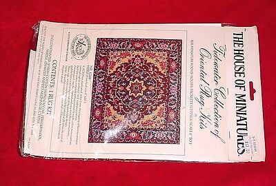House of Miniatures Tidewater Collection Oriental Dollhouse Rug Kit Needlepoint
