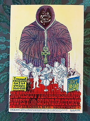 The Spirit~James Cotton Blues Band~West~8/30,31/1968 SoundFactory Handbill Mint!