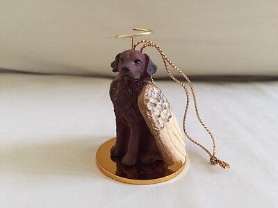 Tiny Ones Ornament Chesapeake Bay Dog Angel w Wings Collectible