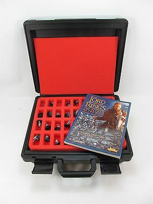 Lord Of The Rings Games Workshop Figurines Book And Padded Hard Case